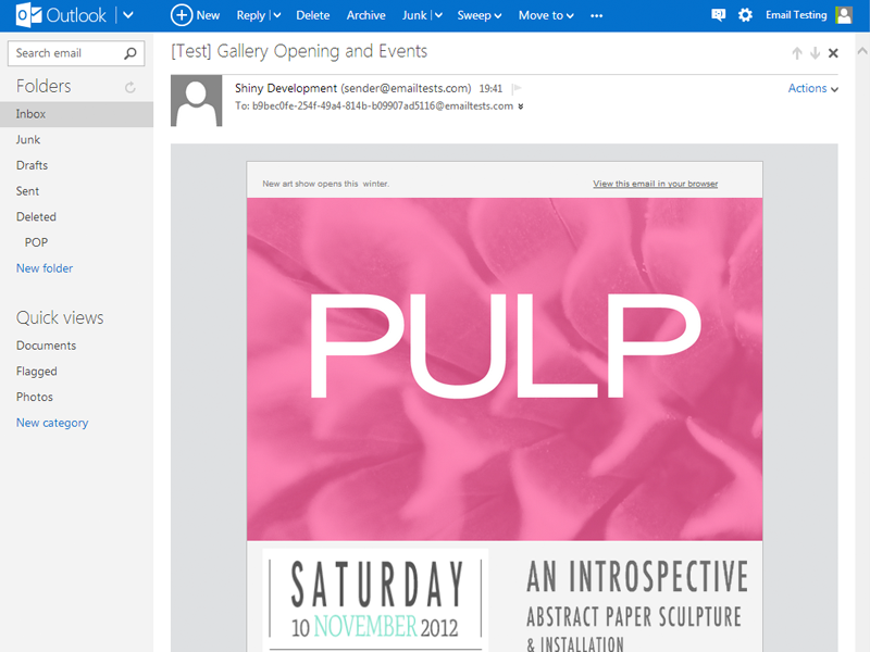 Email Clients | Email Design Reference