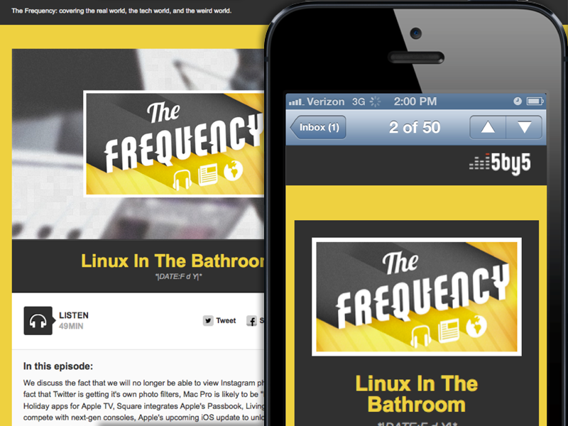 Mobile Friendliness Email Design Reference