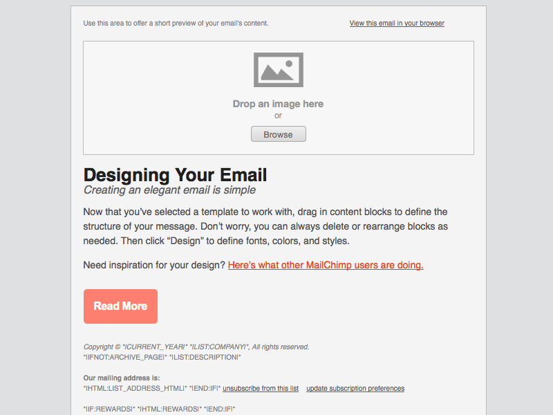 Adaptive buttons email design reference for Html code for email template