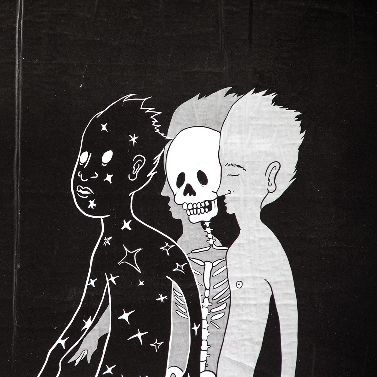 Ghost of Me Mural