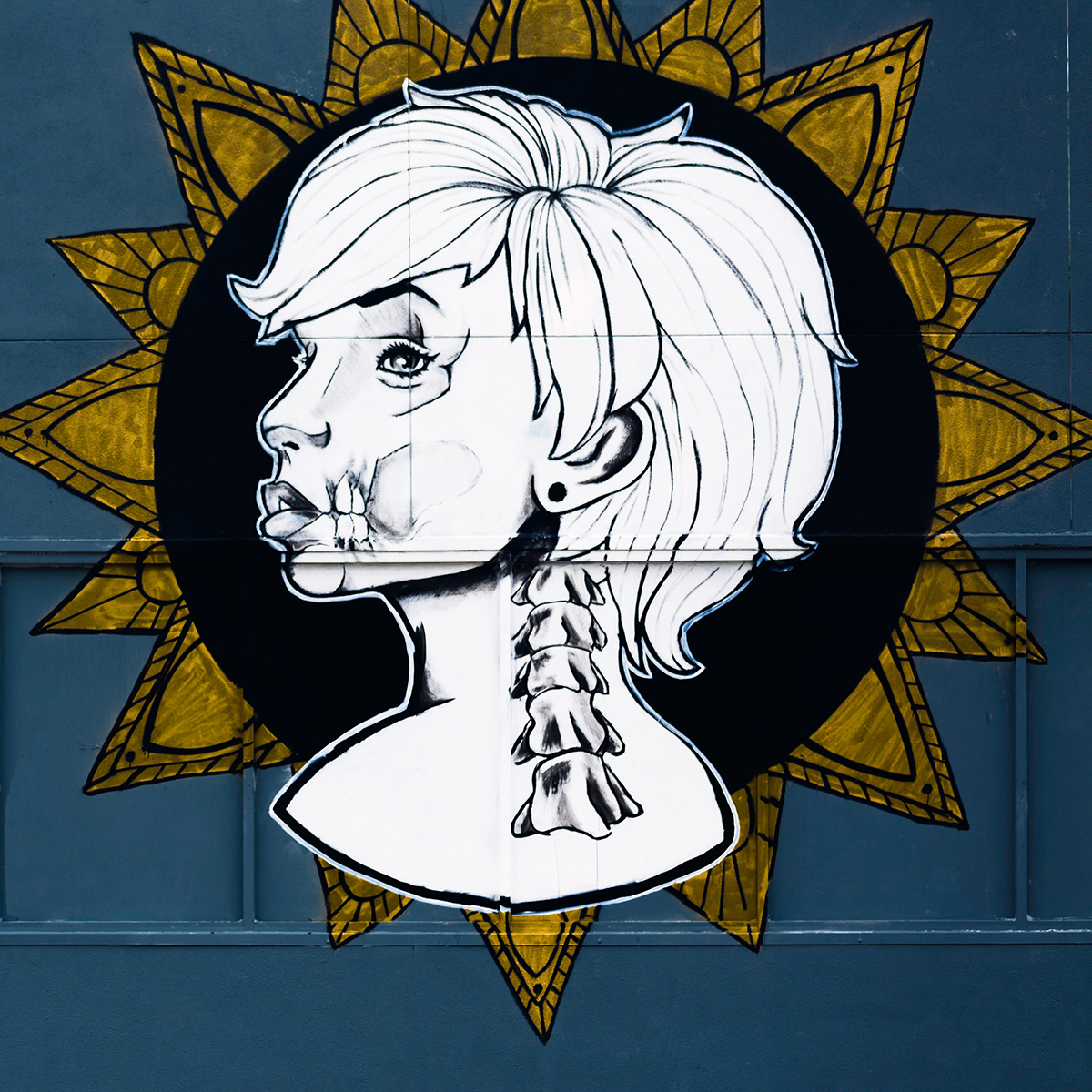 Xray Saint Mural